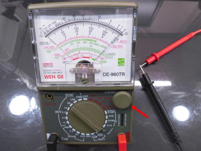 アナログマルチテスター DE-960TR