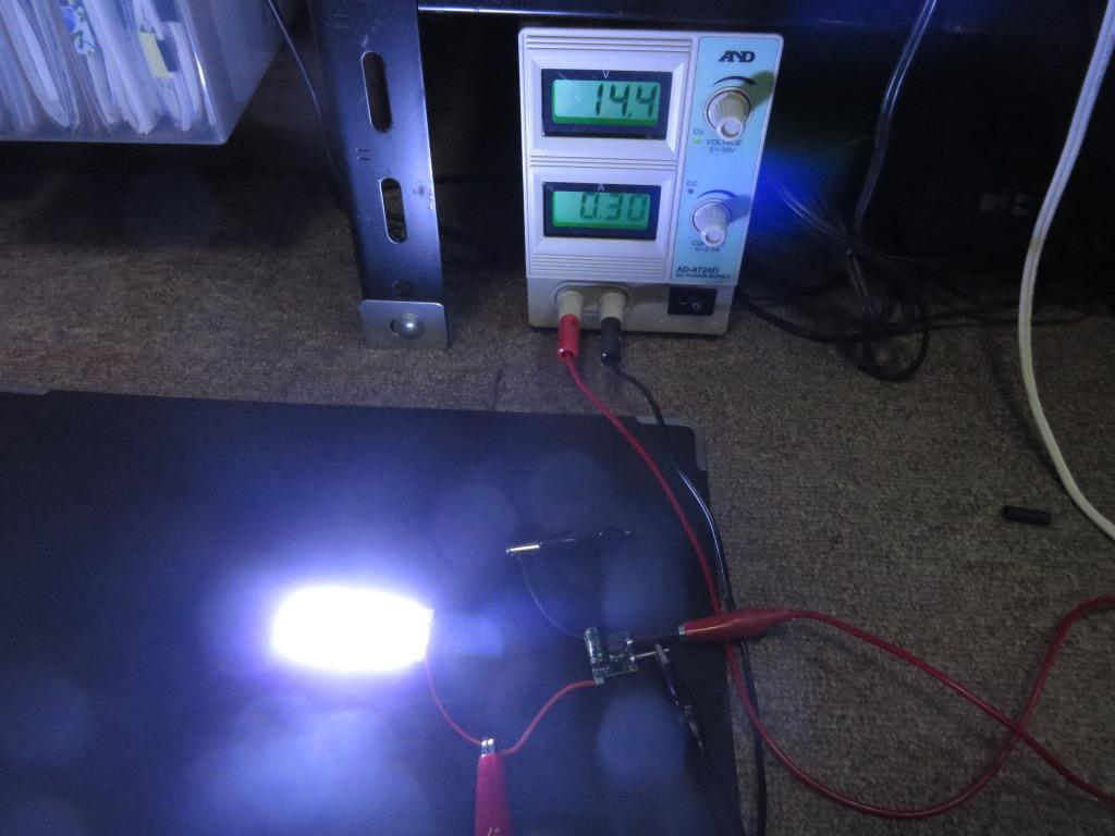 ルームランプをCOB LEDにする場合の電流制御