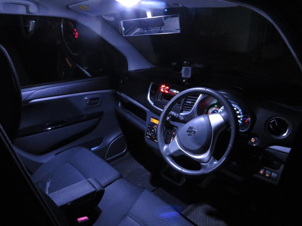 ルームランプをCOB LEDにする場合のLEDドライバーの組み方